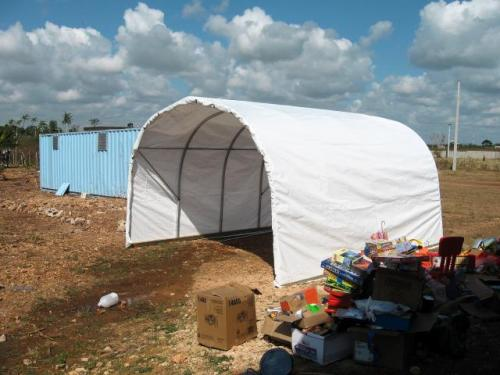 Shelters in the Dominican Republic