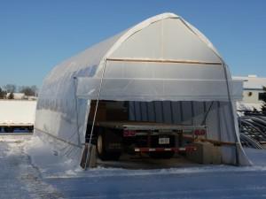truck shelter ends