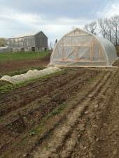 """The outside view of the end. It is very important to have enough of the ends opening to allow proper ventilation and access for equipment. The ends will usually have an emphasis on what is functional rather then what may be considered """"pretty"""""""