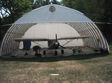 stu's airplane hangar