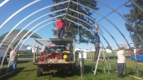 27-complete the second row of purlins