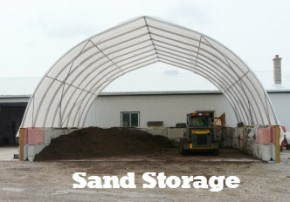 sand storage building information page button